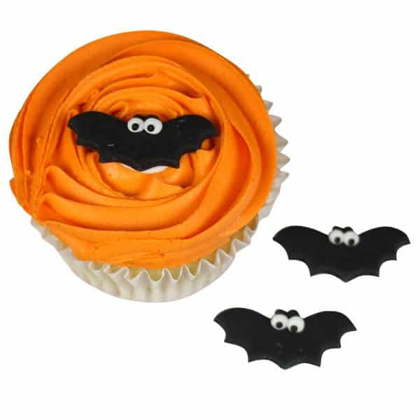 Halloween Bat Sugar Cake Decorations