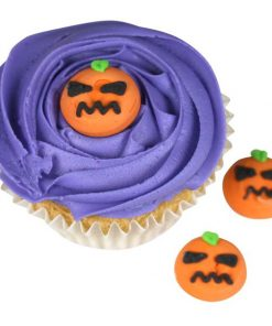 Halloween Pumpkin Sugar Cake Decorations