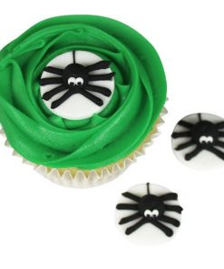 Halloween Spider Sugar Cake Decorations