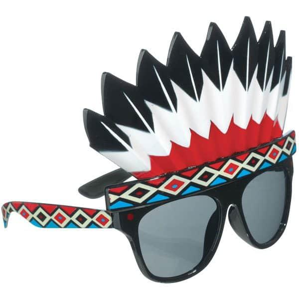 Indian Head Dress Glasses