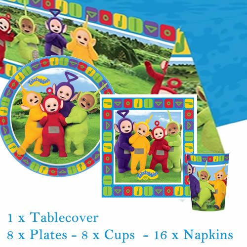 Teletubbies Party Pack For 8