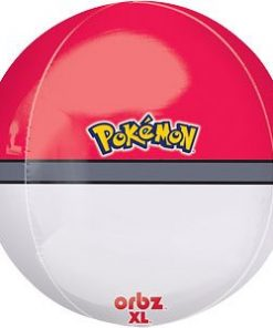 Pokemon Party Poke Ball Orbz Foil Balloon