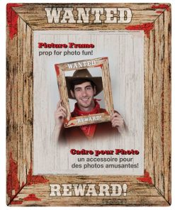 Rodeo Western Wanted Poster Photo Booth Frame
