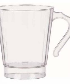 Clear Plastic Coffee Cups