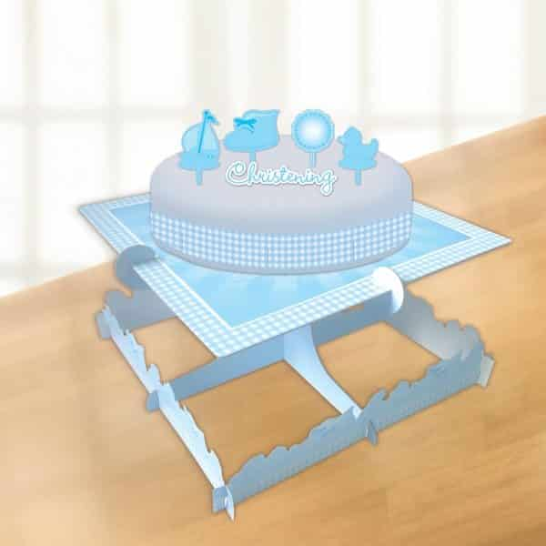 Christening Booties Blue Party Cake Decorating Kit