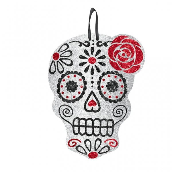 Day Of The Dead Party Sign