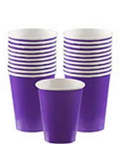 Purple Party Paper Cups