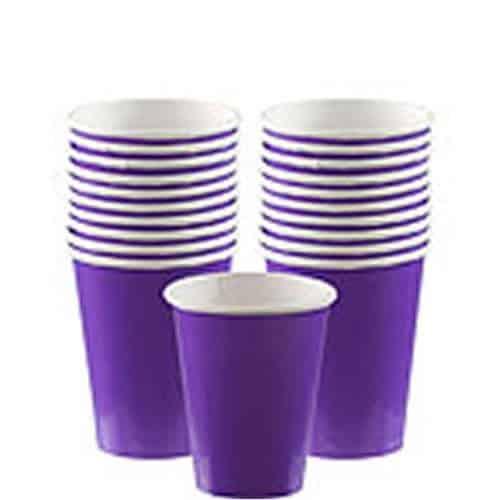 Purple Party Paper Cups
