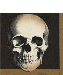 Halloween Boneyard Party Luncheon Napkins