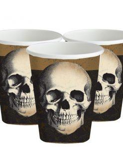 Halloween Boneyard Party Paper Cups