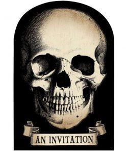 Halloween Boneyard Party Invitations