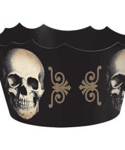 Halloween Boneyard Party Plastic Serving Bowl