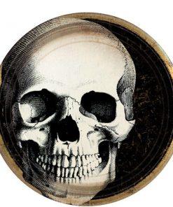 Halloween Boneyard Party Paper Plates