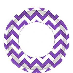 Purple Chevron Party
