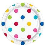 Rainbow Polka Dot