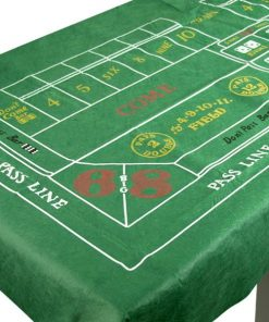 Casino Craps Felt Tablecover