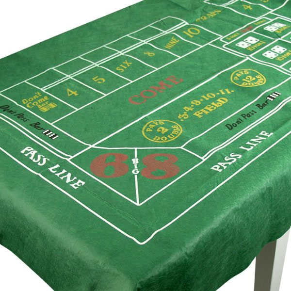 Casino Craps Felt Tablecover