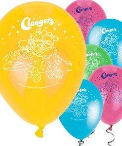 Clangers Party Printed Latex Balloons
