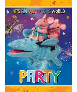 Clangers Party Invitations
