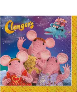 Clangers Party Paper Lunch Napkins