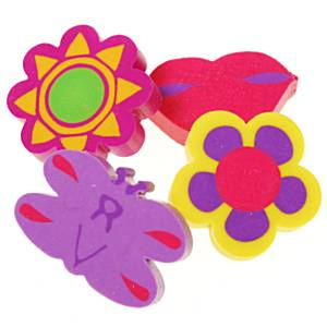 Girly Erasers