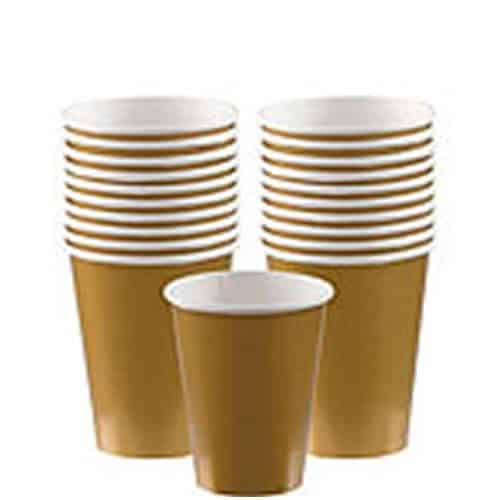 Gold Party Paper Cups