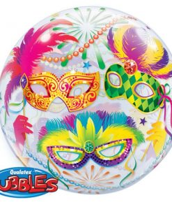 Masquerade Mardi Gras Party Masquerade Bubble Balloon