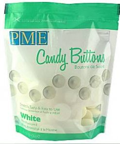 White Mint Chocolate Candy Buttons