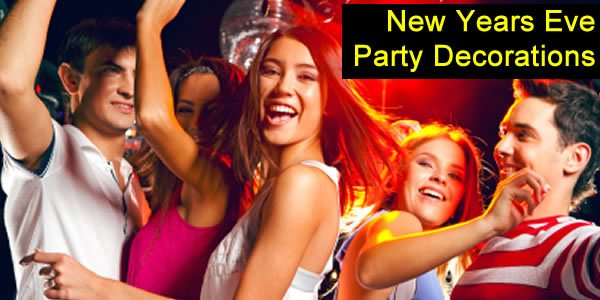 New Years Eve Party Decorations, Poppers & Banners in the UK Next Day Delivery