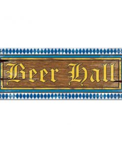 Oktoberfest Party Beer Hall Sign