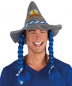 Oktoberfest Hat with Plaits