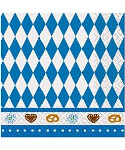 Oktoberfest Party Paper Napkins