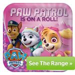 Buy Cheap Paw Patrol Pink Party Supplies, Decorations & Banners in the UK