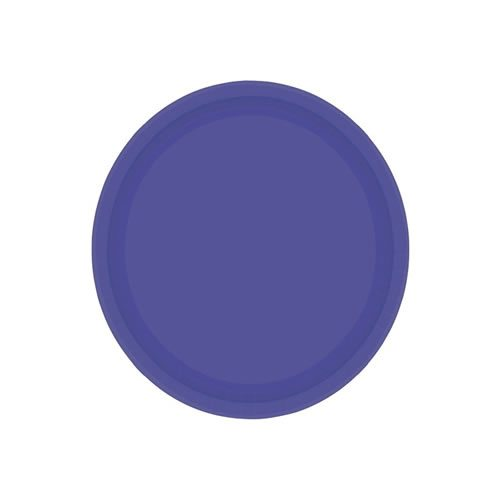 Purple Party Paper Dessert Plates