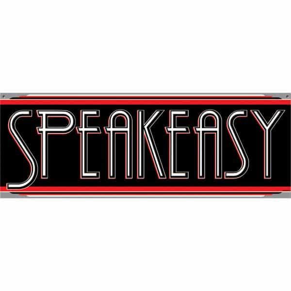 1920s Speakeasy Sign