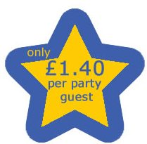 Pokemon Party Pack only £1.40 per guest