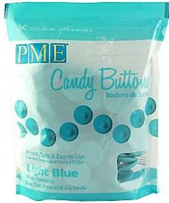 PME Light Blue Vanilla Candy Buttons