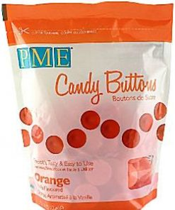 Orange Vanilla Candy Buttons
