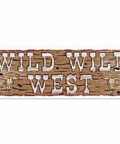 Wild West Sign Banner