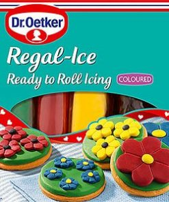 Dr. Oetker Ready to Roll Icing Primary Colours Pack