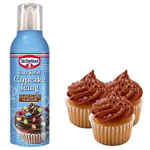 Dr Oetker Chocolate Easy Swirl Cupcake Icing
