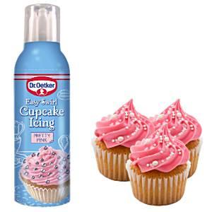 Dr Oetker Pink Easy Swirl Cupcake Icing