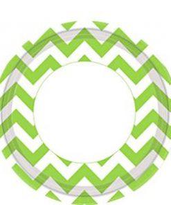 Lime Green Chevron