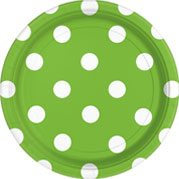 Green Polka Dot