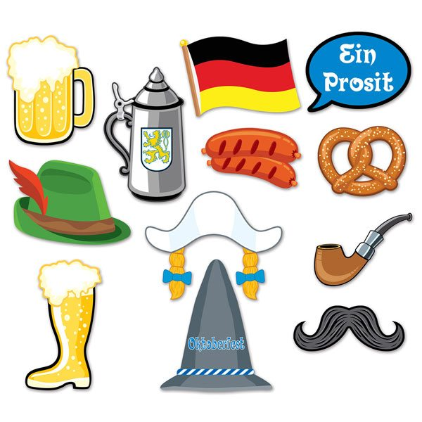 Oktoberfest Party Photo Booth Props