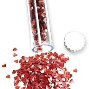 Pink Glitter Sugar Hearts