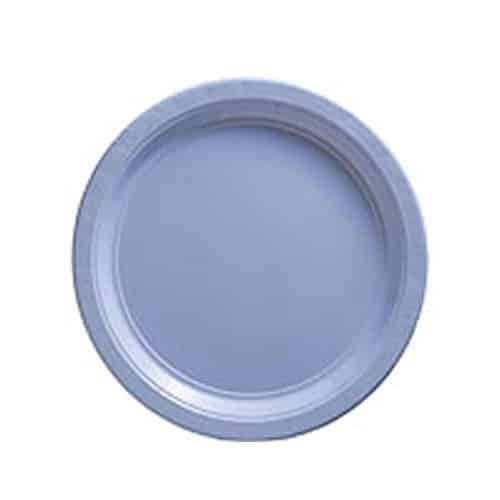 Baby Blue Party Paper Plates