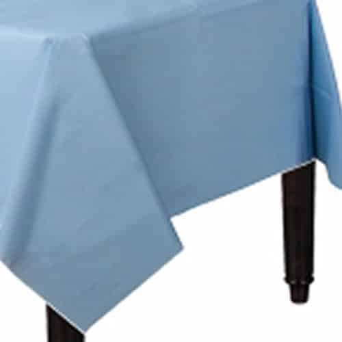 Baby Blue Party Plastic Tablecover