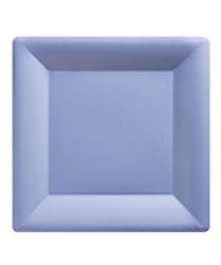 Baby Blue Party Paper Square Plates
