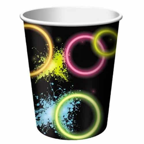 Glow Party Paper Cups